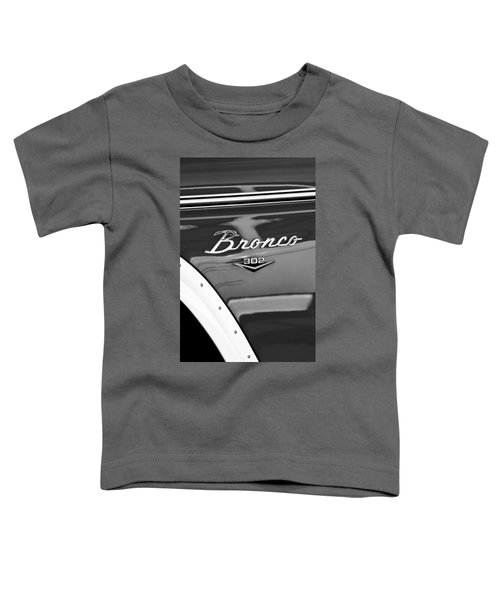 1972 Ford Bronco Emblem Toddler T-Shirt