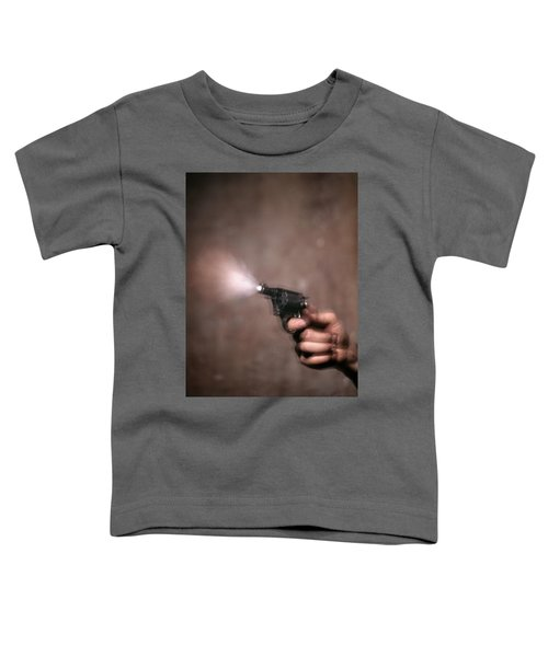 1980s Blur Motion Of A Hand Shooting Toddler T-Shirt