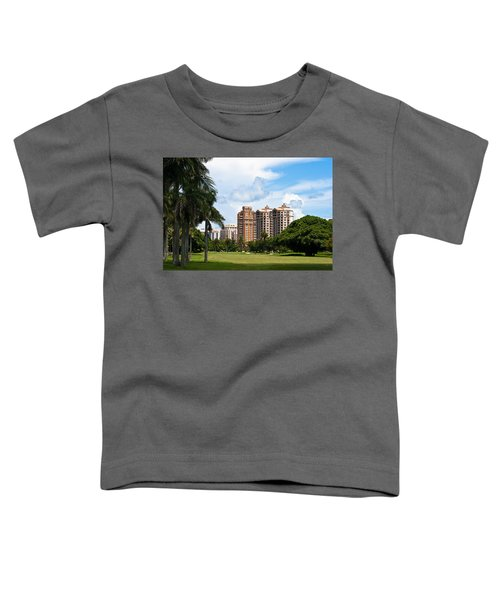 1st Hole At Granada Golf Course Toddler T-Shirt