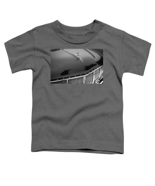 1956 Lincoln Continental Mark II Hess And Eisenhardt Convertible Grille Emblem - Hood Ornament Toddler T-Shirt