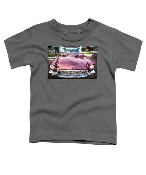 1957 Ford Thunderbird Convertible  Toddler T-Shirt