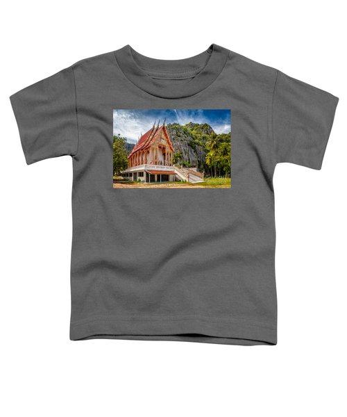 Buddhist Temple Toddler T-Shirt