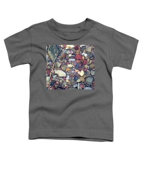 Colorful Lake Rocks Toddler T-Shirt