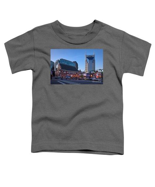 Downtown Nashville Toddler T-Shirt