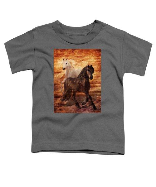 Ebony And Ivory Toddler T-Shirt