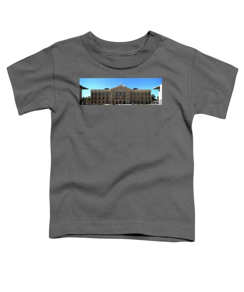Facade Of The Arizona State Capitol Toddler T-Shirt