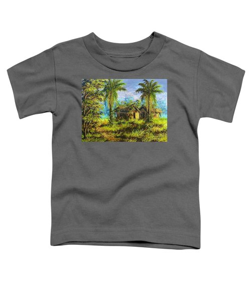 Forest House Toddler T-Shirt