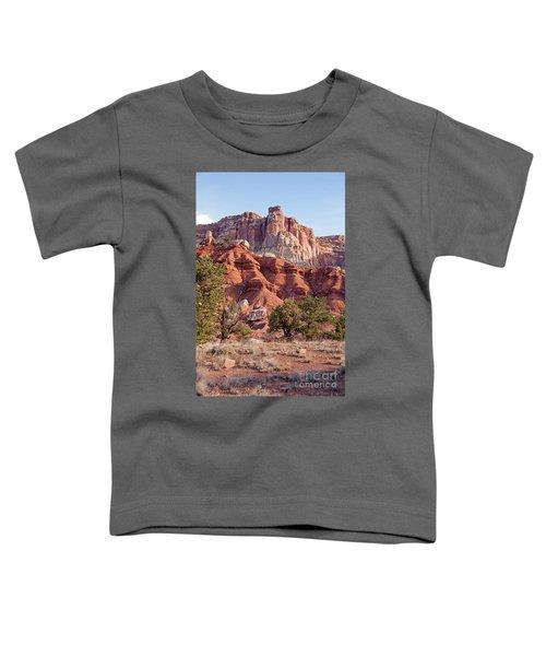 Golden Throne Capitol Reef National Park Toddler T-Shirt