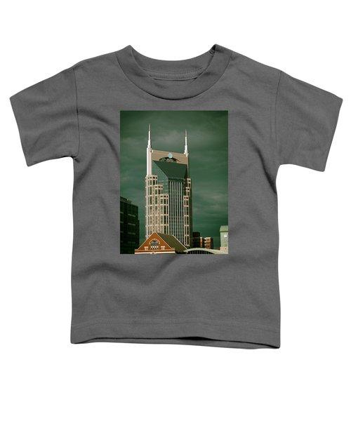 Icons Of Nashville Toddler T-Shirt