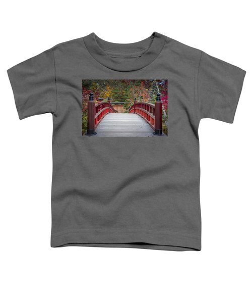 Toddler T-Shirt featuring the photograph Japanese Bridge by Sebastian Musial