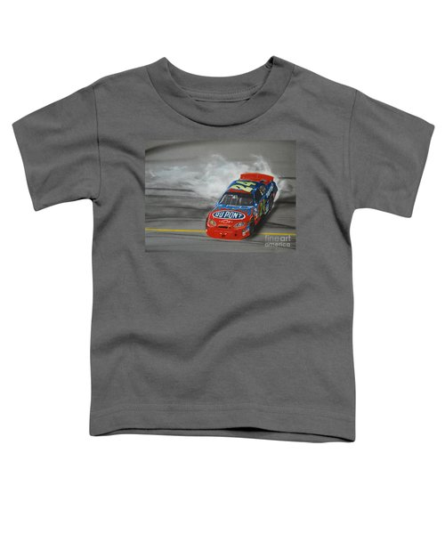 Jeff Gordon Victory Burnout Toddler T-Shirt
