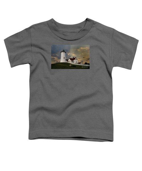 Nobska Lighthouse Color  Toddler T-Shirt