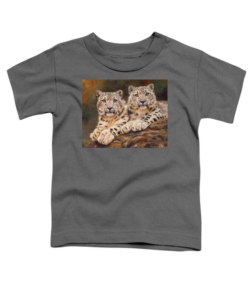 Snow Leopards Toddler T-Shirt