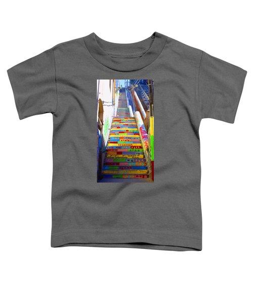 Stairway To Heaven Valparaiso  Chile Toddler T-Shirt