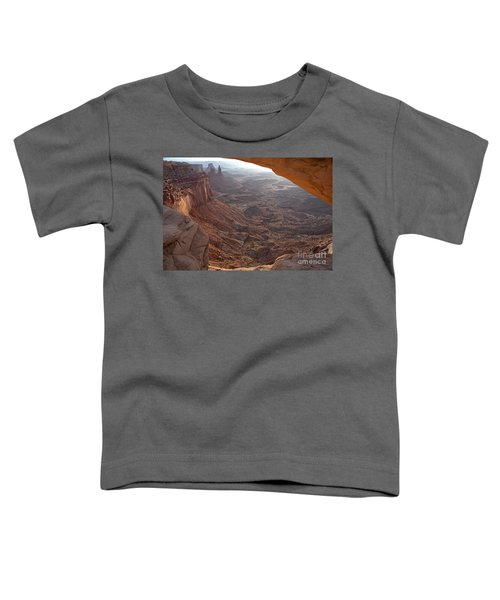 Sunrise Mesa Arch Canyonlands National Park Toddler T-Shirt