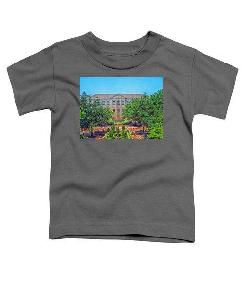 The Old Main - University Of Arkansas Toddler T-Shirt