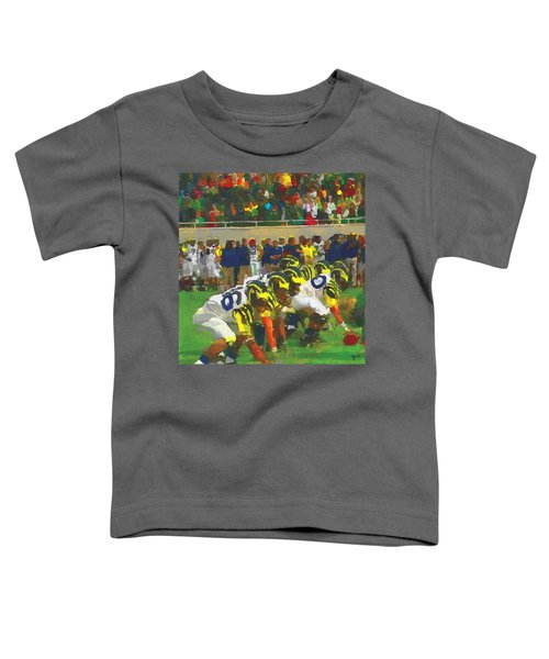 The War Toddler T-Shirt by John Farr