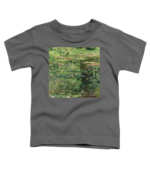 The Waterlily Pond Toddler T-Shirt
