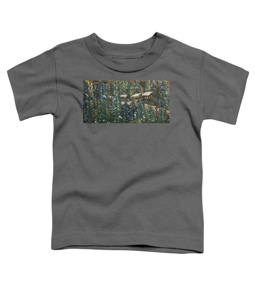 Winter Has Come To Door County. Toddler T-Shirt