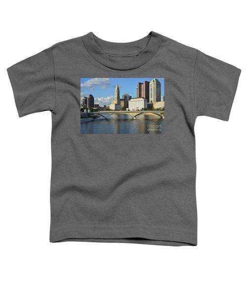 Columbus Ohio Skyline Photo Toddler T-Shirt