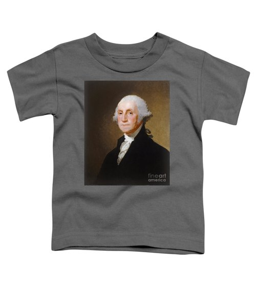 George Washington Toddler T-Shirt by Gilbert Stuart