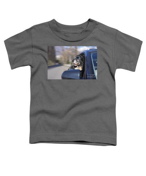 Happy Dog Toddler T-Shirt