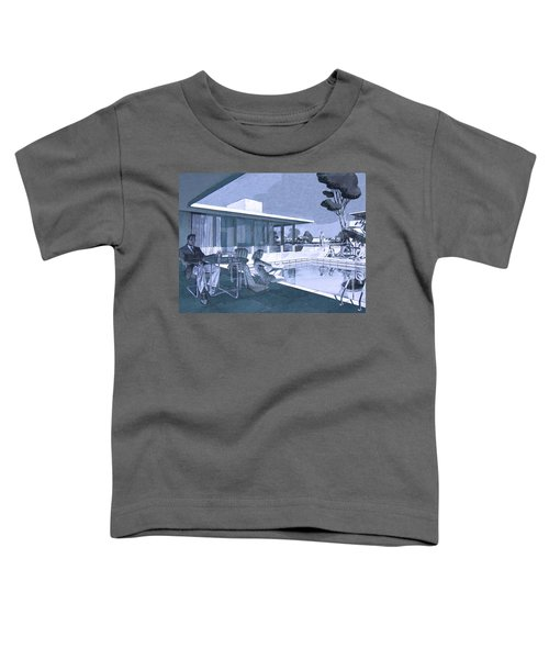Palm Springs Sunday Toddler T-Shirt