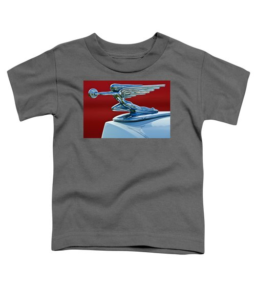 1936 Packard Hood Ornament Toddler T-Shirt