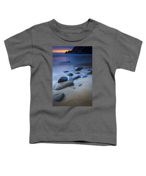 Campelo Beach Galicia Spain Toddler T-Shirt