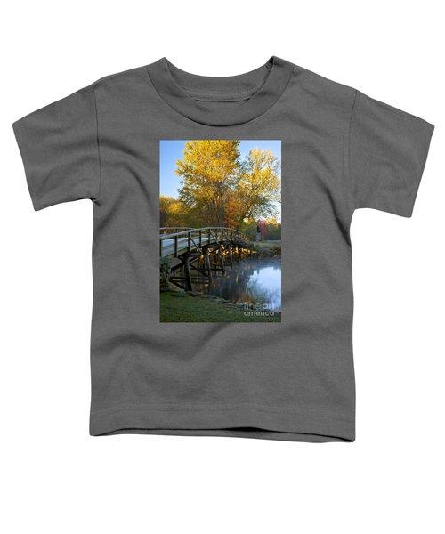 Old North Bridge Concord Toddler T-Shirt