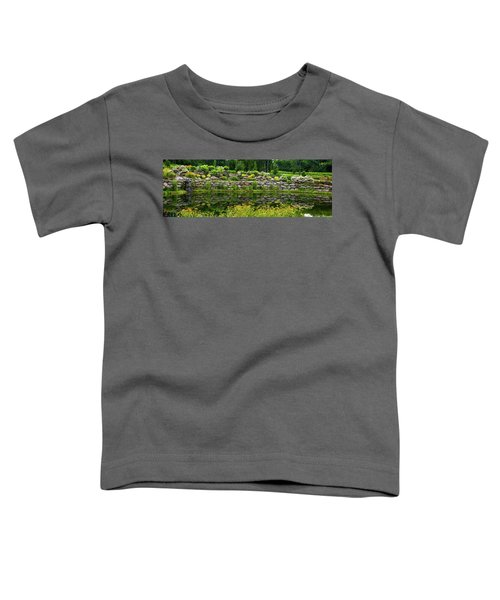 Rocks And Plants In Rock Garden Toddler T-Shirt