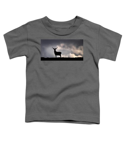 Stag Silhouette Toddler T-Shirt