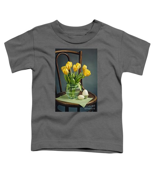 Still Life With Yellow Tulips Toddler T-Shirt