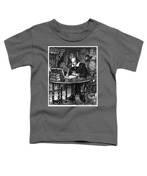 William Shakespeare (1564-1616) Toddler T-Shirt
