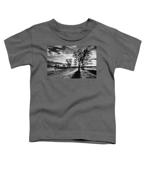 Winter Morning Shadows / Maynooth Toddler T-Shirt