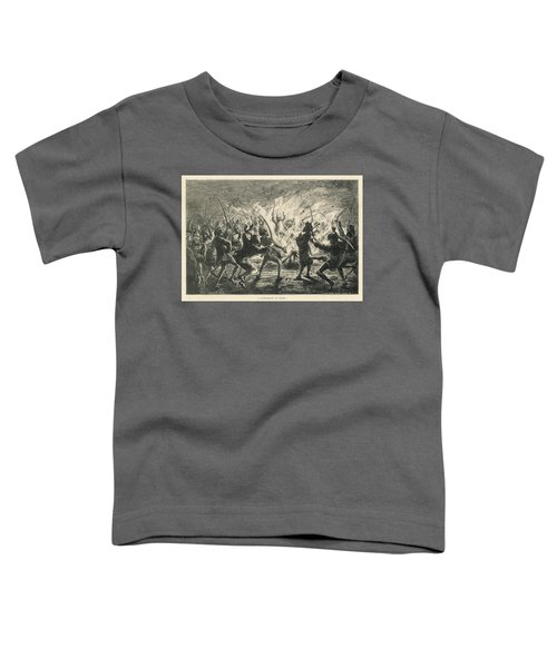 Semipalmated Sandpipers Toddler T-Shirt by Yva Momatiuk John Eastcott