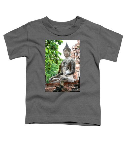 Buddha Statue Toddler T-Shirt