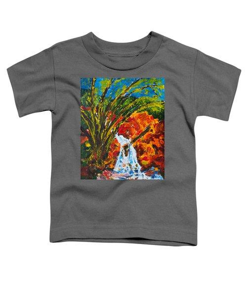 Burch Creek Waterfall Toddler T-Shirt