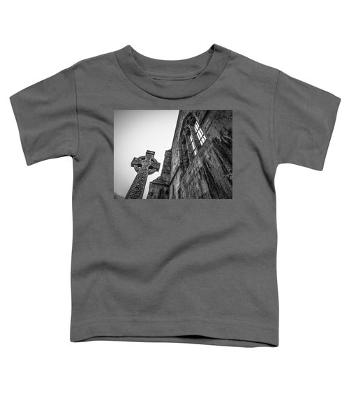 Toddler T-Shirt featuring the photograph 700 Years Of Irish History At Quin Abbey by James Truett
