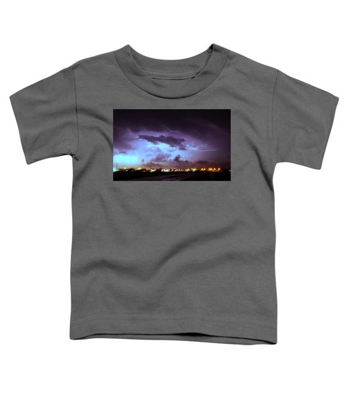 Our 1st Severe Thunderstorms In South Central Nebraska Toddler T-Shirt