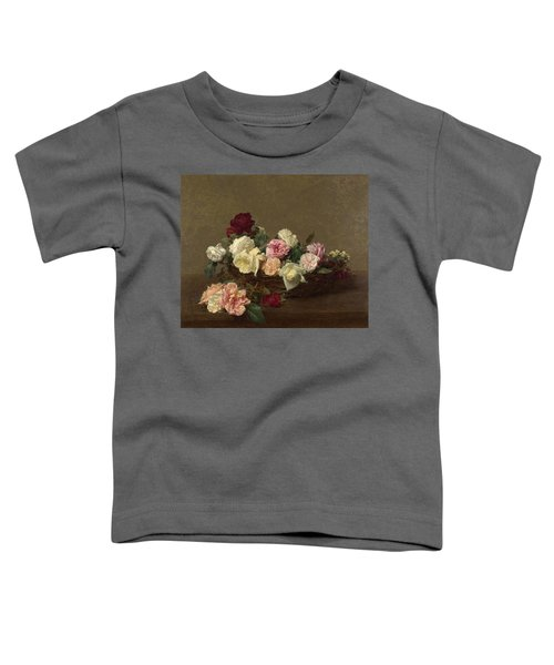 A Basket Of Roses Toddler T-Shirt