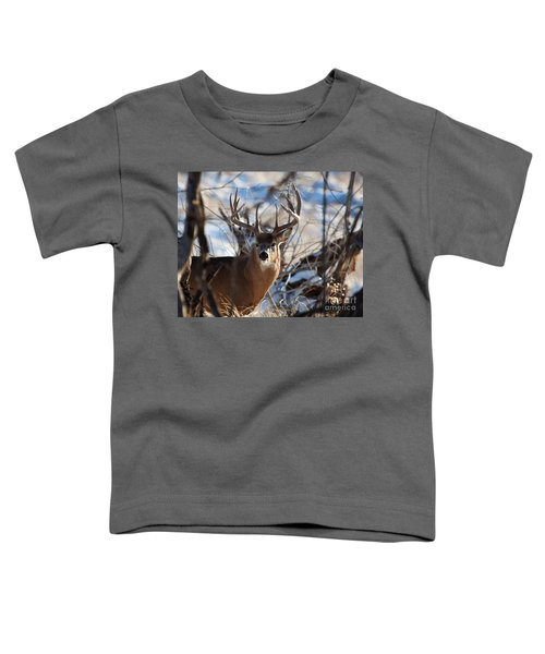 A Buck In The Bush Toddler T-Shirt
