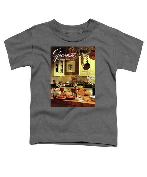 A Buffet Brunch Party Toddler T-Shirt