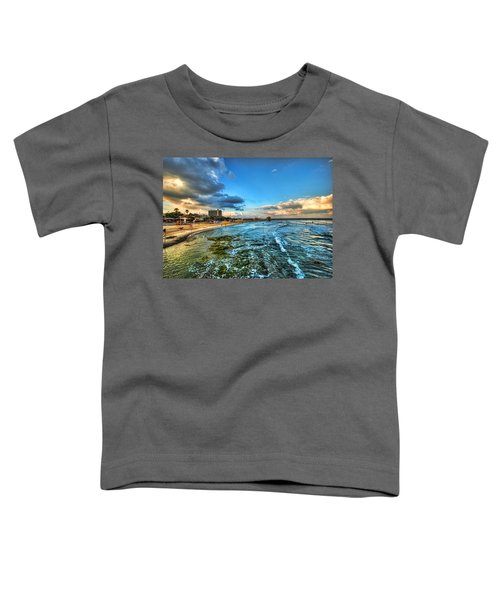 a good morning from Hilton's beach Toddler T-Shirt