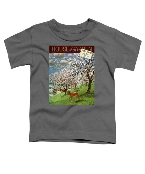 A House And Garden Cover Of A Calf Toddler T-Shirt