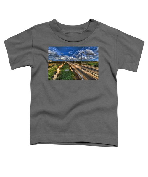 a majestic springtime in Israel Toddler T-Shirt