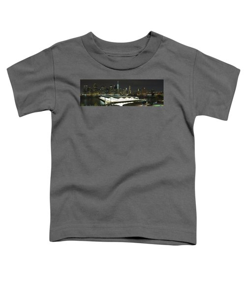 A New York City Night Toddler T-Shirt