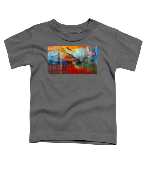 A Piece Of America Toddler T-Shirt