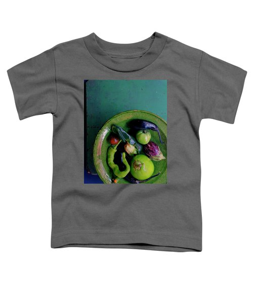 A Plate Of Vegetables Toddler T-Shirt