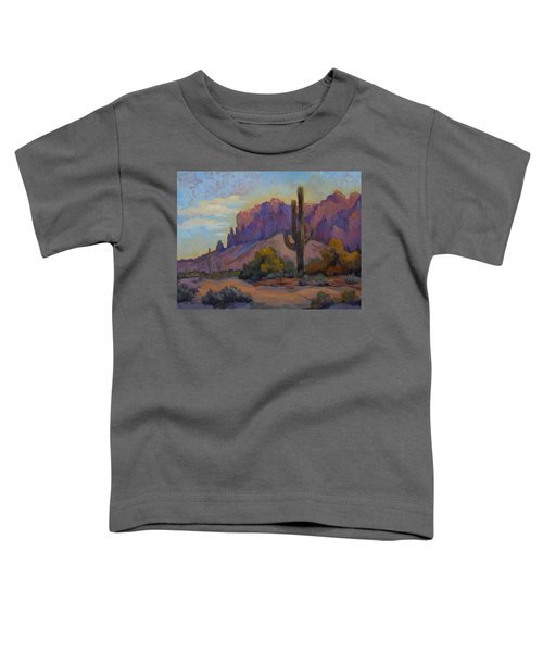 A Proud Saguaro At Superstition Mountain Toddler T-Shirt